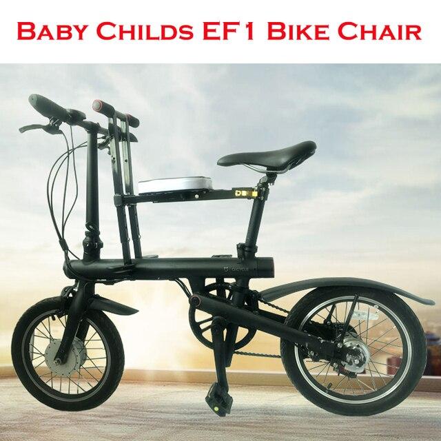 ae563f9e3d Bambino Bambino Bici Bicicletta Sedia Seggiolino per Xiaomi Mijia Qicycle  EF1 Bici Elettrica Pieghevole E-