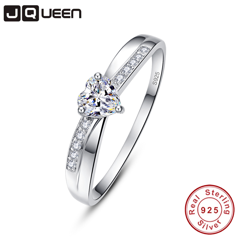 Infinity Wedding Band.Us 7 69 45 Off Jqueen Infinity 925 Sterling Silver Rings Women Cross Infinity Wedding Band Engagement Ring Simple Statement Jewelry Anillos 925 In