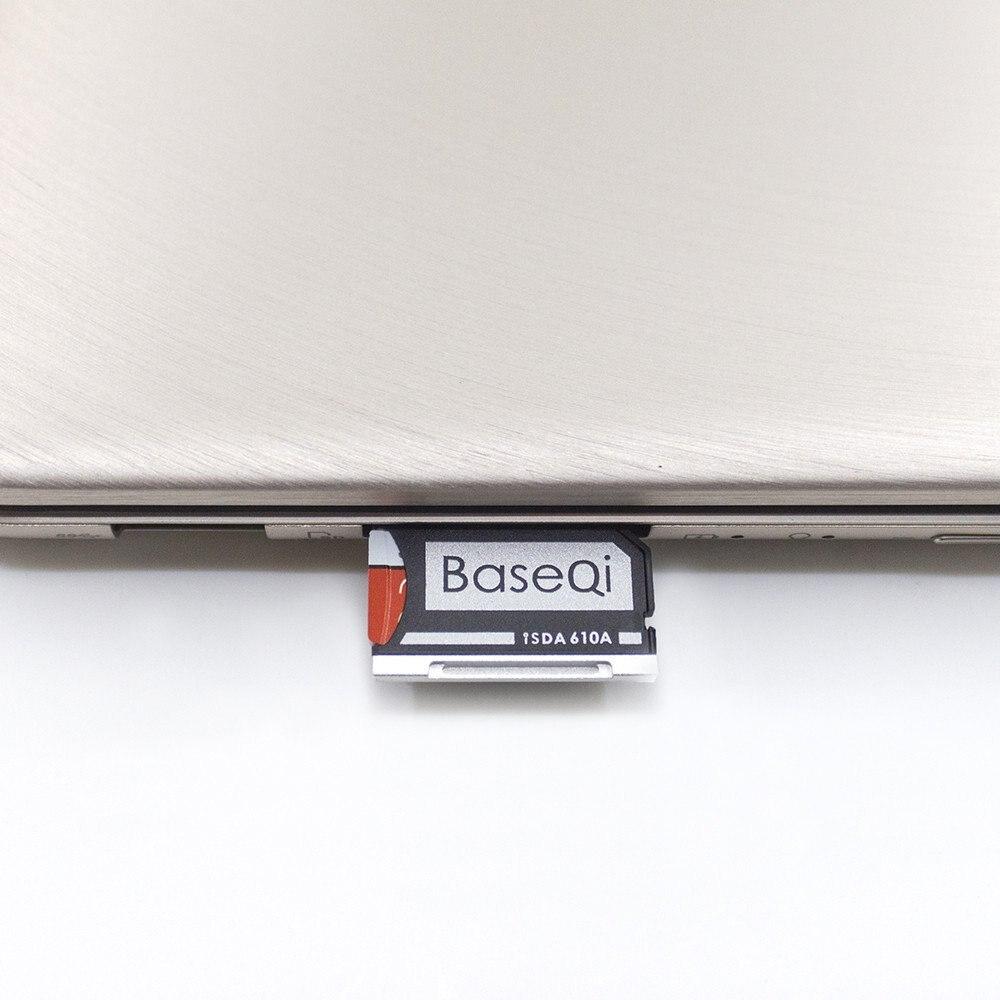610A Original BASEQI de aluminio MiniDrive adaptador de tarjeta Micro SD lector de tarjetas para Asus ZenBook Flip ux360CA