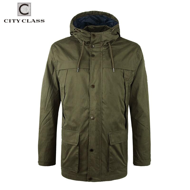 Erkek Kıyafeti'ten Ceketler'de ŞEHIR SıNıF 2018 Erkek % 100% Yıkanmış Pamuk Rüzgarlık Askeri Gevşek Çok renkler Kapşonlu Ceket ve Mont İpli 3793'da  Grup 1
