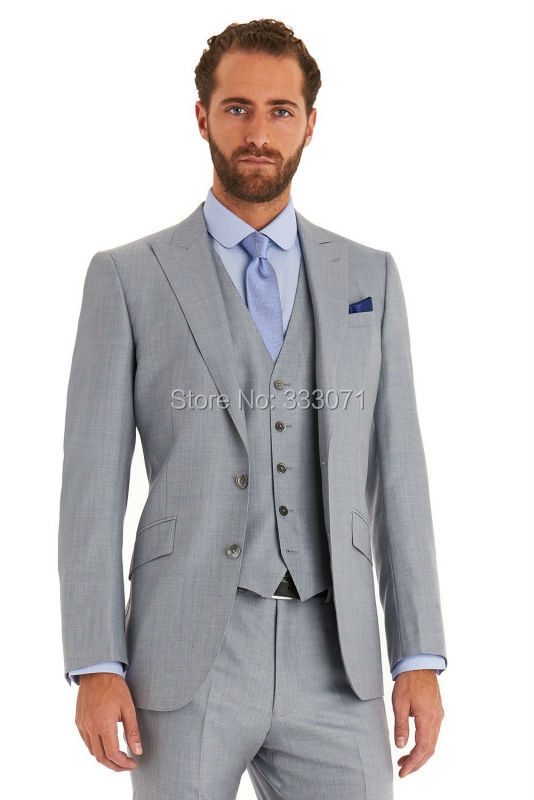 High Quality Mens Gray Suits-Buy Cheap Mens Gray Suits lots from