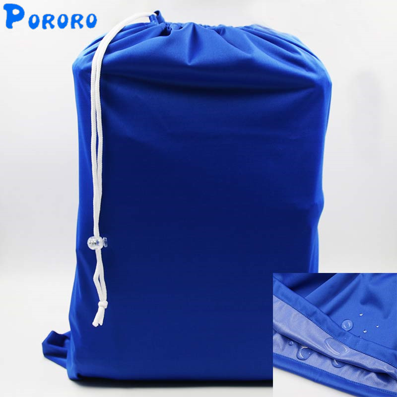 Large Capacity Baby Cloth Diaper Bags Waterproof Draw String Reusable Wet Dry Bags Wetbags Bolso Grande Maternity Bag 50x60cm