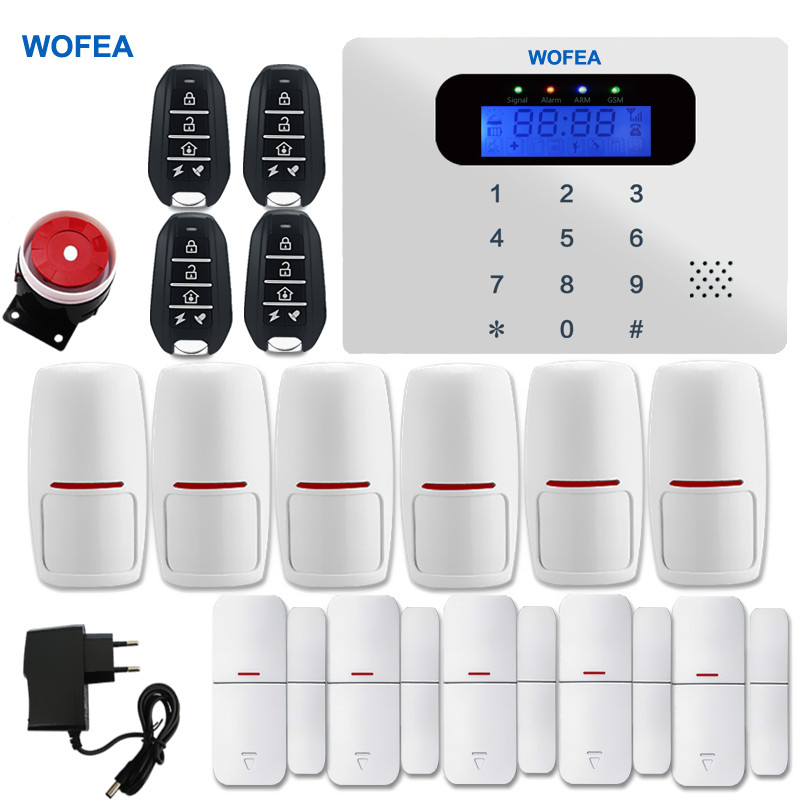 bilder für Smart ios Android app GSM Wireless Home Security und Verdrahtete Sprach home GSM Alarm System Russische Englisch 5 sprache