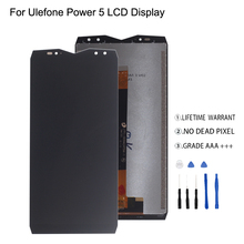 Original For Ulefone Power 5 LCD Display Touch Screen Digitizer Assembly Phone Parts