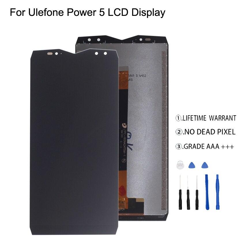 ต้นฉบับสำหรับ Ulefone Power 5 จอแสดงผล LCD Touch Screen Digitizer Assembly สำหรับ Ulefone Power 5 จอแสดงผล LCD อะไหล่-ใน จอ LCD โทรศัพท์มือถือ จาก โทรศัพท์มือถือและการสื่อสารระยะไกล บน AliExpress - 11.11_สิบเอ็ด สิบเอ็ดวันคนโสด 1