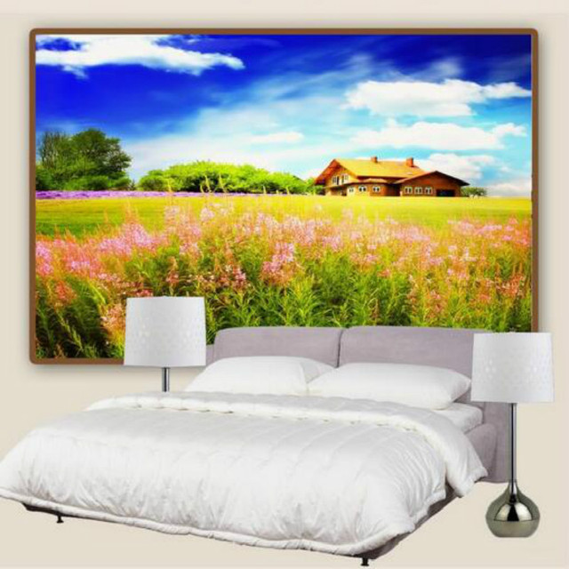 landscape living painting bedroom background murals wall natural wallpapers mouse zoom