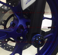 Bike GP Fits Yamaha FZ07 MT 07 14 15 Modified Front And Rear Wheels Drop Resistance