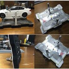 1:18 сплав модель автомобиля обслуживание сцена гараж ремонт подъемная станция DIY сцена