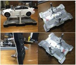 1:18 legierung modell auto wartung szene garage reparatur heben station DIY szene