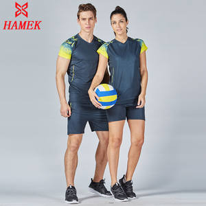 Volleyball-Uniforms Training-Suit Sports Men Blank Women