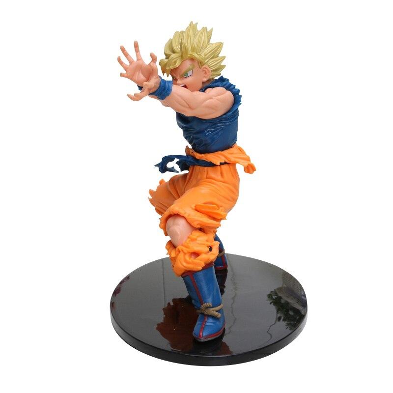 8-30 см Dragon Ball Z SCultures, большая серия Budoukai, фигурка из лазурита, наппа, радиц, Гоку, плавки, Вегета, сатана, Коллекционная модель - Цвет: Goku Super Saiyan 4