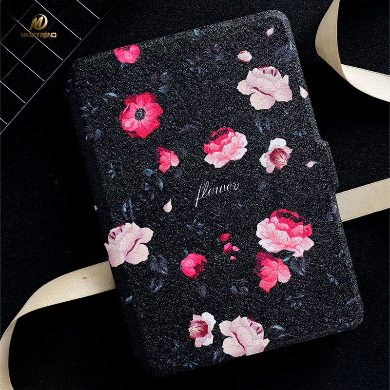 Mimiatrend Roses E-Books Case for Amazon Kindle Paperwhite1/2/3 Voyage Case Shell Leather Cover For Kindle Paperwhite Case Gift xx fashion pu leather cute case for amazon kindle paperwhite 1 2 3 6 e books case stand style protect flip cover