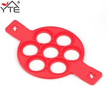 Pancake Maker Nonstick Cooking Tools Egg Ring Maker Pancakes Cheese Egg Cooker Tools Pan Flip Eggs Mold Kitchen Baking Accessory