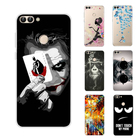 For Huawei P Smart Case Color Pattern TPU Full Protective Case Soft Silicone Cover Case For Huawei PSmart Phone Cover Coque
