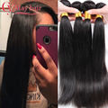 Ali Moda Hair Products Maylasian Hair Extension Human Hair Weaves 4 Bundles 8a Malaysian Virgin Hair Straight 4 Bundles