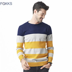 Fgkks 2017 new autumn winter fashion brand clothing men knitted sweater o neck slim fit pullover.jpg 250x250
