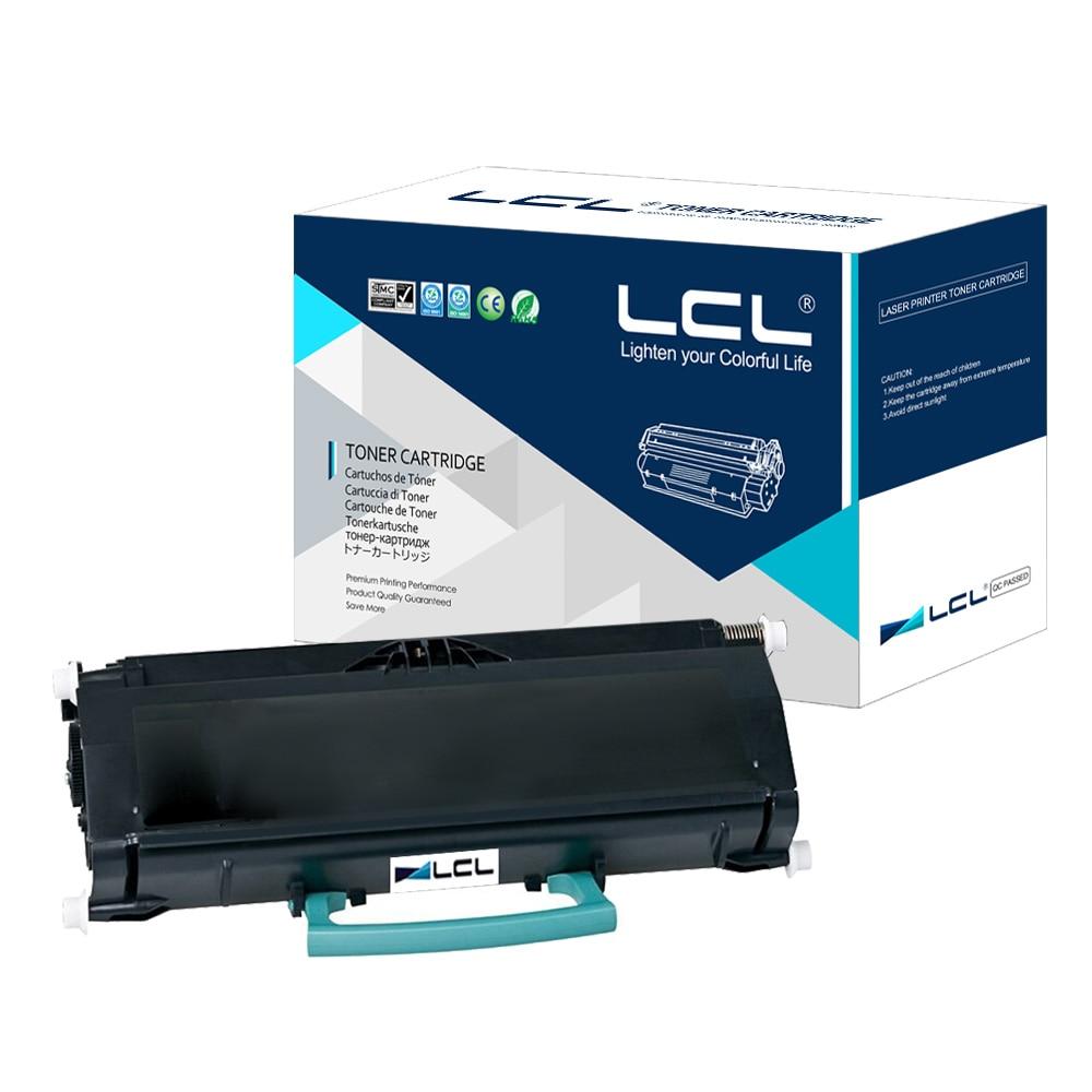 LCL E460X11E E460X 460 (1-Pack Black 15000 pages ) Laser Toner Cartridge Compatible for Lexmark E260 E360 E460 E462 cs lx264 bk toner laserjet printer laser cartridge for lexmark x264a11g x264h11g x264 x363 x364 9 000 pages free fedex