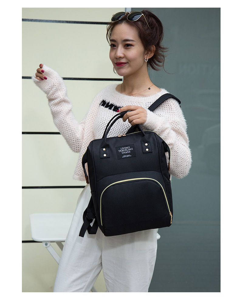 HTB1BK2bXBCw3KVjSZFlq6AJkFXaQ Multi-Function Mummy Maternity Nappy Bag Fashion Patchwork Large Capacity Baby Bag Travel Backpack Nursing Bag for Mom Designer