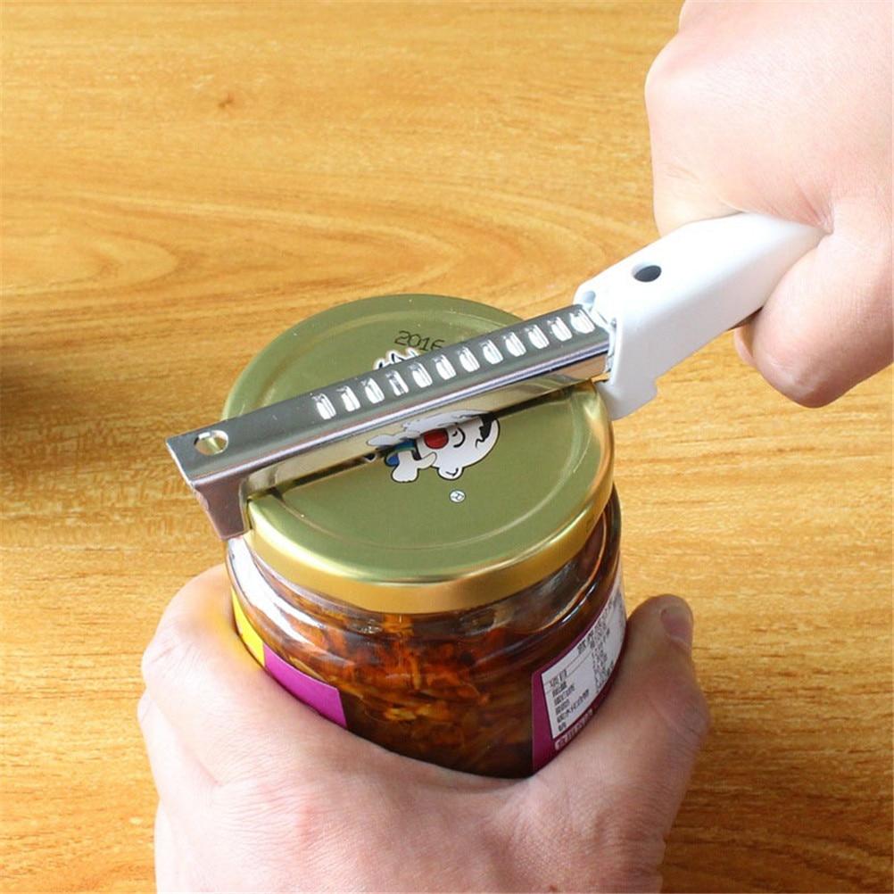 Professional Adjustable Stainless Steel Can Opener Manual Jar Bottle Opener Multifunction Kitchen Gadgets