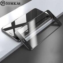 Phones Telecommunications - Mobile Phone Accessories  - TOMKAS Full Cover Glass For Xiaomi Mi A1 Screen Protector 2.5D 9H Scratch Proof For Xiaomi Mi A1 Mi 5X Mi5X Tempered Glass