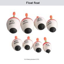 8/16/24/40/80pcs/lot 10g-60g EVA Fishing Floats Ball boia float Set Sea fishing Accessories night fishing float Trackle