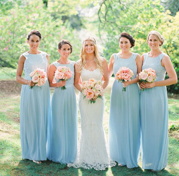 Pool Bridesmaid Dresses