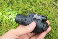 Pistol Red Laser Combo Hunting Sight Scope 650nm Tactical LED Flashlight Switch Button For Rifle Pistol
