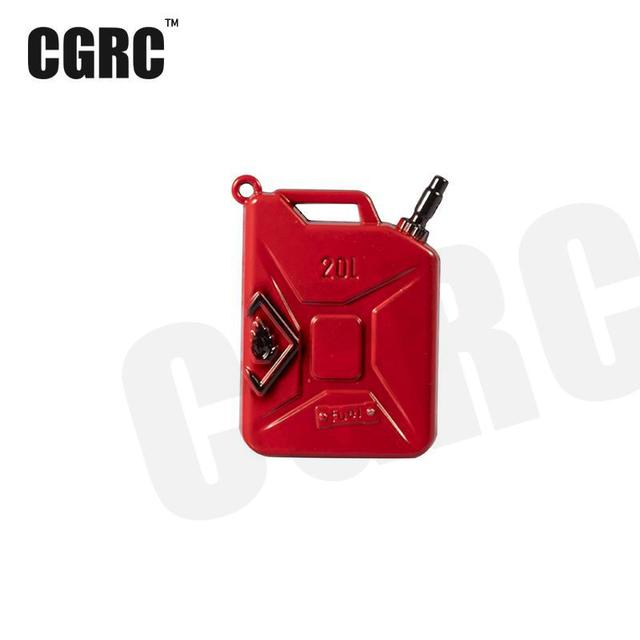 1PCS Simulated full metal fuel tank for 1/10 RC Crawler Car Traxxas TRX4 ford bronco Axial Scx10 90046 90047 jeep Wrangler D90