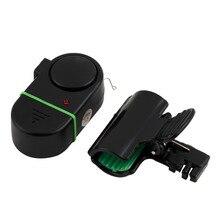 Fishing 1pcs Sound-light alarm device Fishing Rod Pole Electronic Bite Fish Alarm Bell With LED light Free shipping