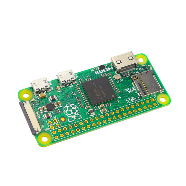 Original Raspberry Pi Zero V1 3 Board with 1GHz CPU 512MB RAM Linux OS  1080P HD Video Output