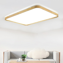 18W Square Wood Led Ceiling Lamp AC220V Led Panel Ceiling Lightings Remote Control Home Cafe Shopping Mall Led Decoration Lights byjotech constant voltage ceiling loudspeaker shopping mall airport hall public broadcasting restaurant home theater music horn