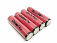 MasterFire 10pcs/lot Brand New Original SANYO Protected 18650 3.7V 2600mAh Lithium Rechargeable Battery Batteries with PCB