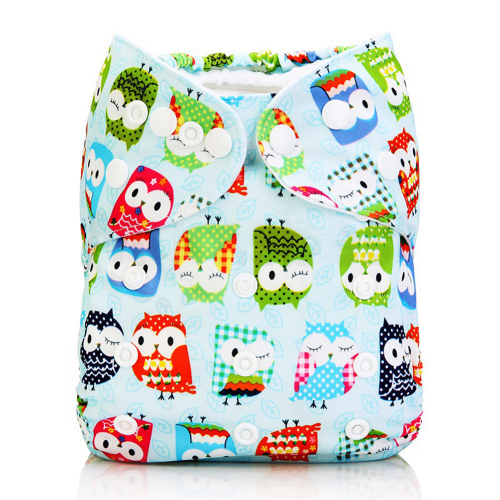 Baby Boys Girls Washable Diapers Newborn Baby Repeatedly Reusable Diapers Infant Toddler Diapers General Training Pants