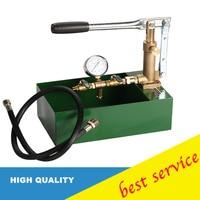 High quality Pure Copper Pump Manual Pressure Test Pump 100KG Hand Pressure Mold Water Machine 10Mpa