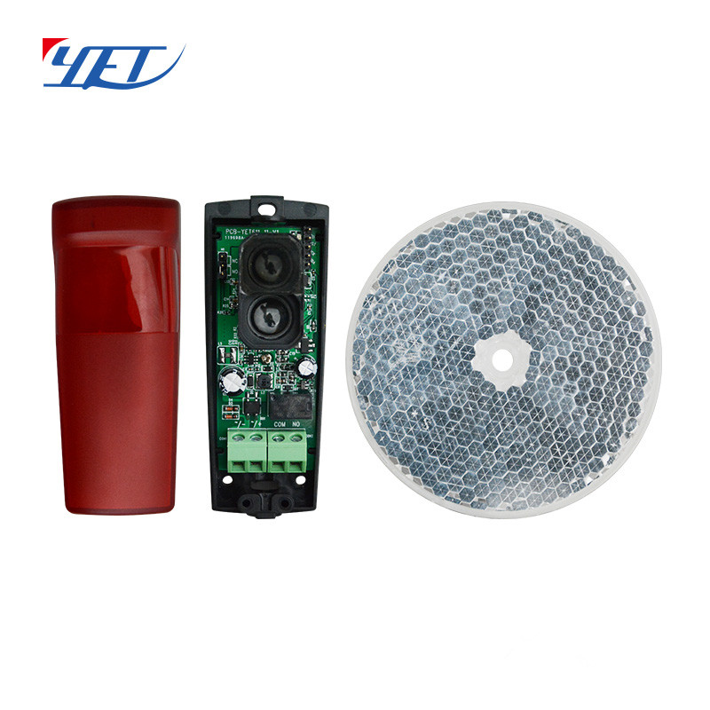 Free shipping cost New arrrival 15 sets 12 24v AC DC Mirror Reflecting Photocell Infrared Sensor