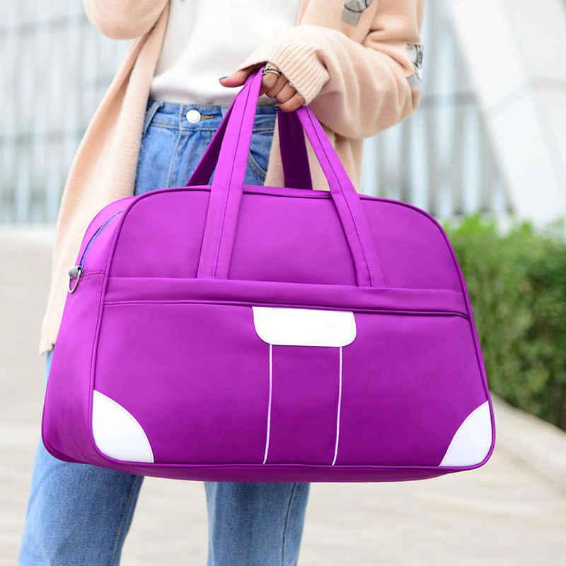 abdbbcf49fc4 ... Large Professional Nylon Gym Bag Waterproof Sports Women Men Fitness  Training Shoulder Luggage Travel Handbags Yoga ...