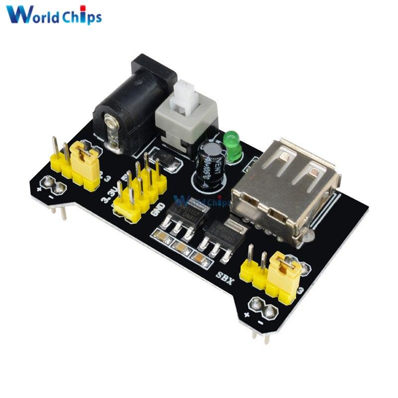2 PCS MB102 Breadboard Power Supply Module 3.3V 5V For Solderless Arduino