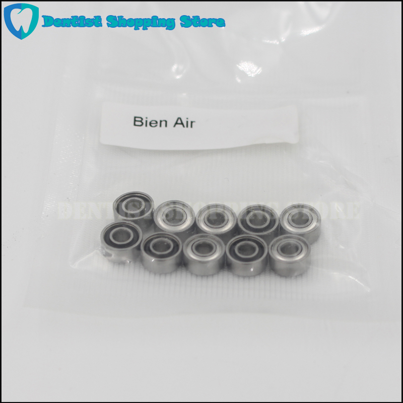 10pcs Dental Ceramic Bearing Balls with Cover Fit Bien Air Handpiece