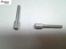 3000pcs GB/T836-1988 M2*4/5/6/8/10/12/14/16/20 Knurled sSrews With Small Head Knurling Manual Adjustment Bolt Wholesales