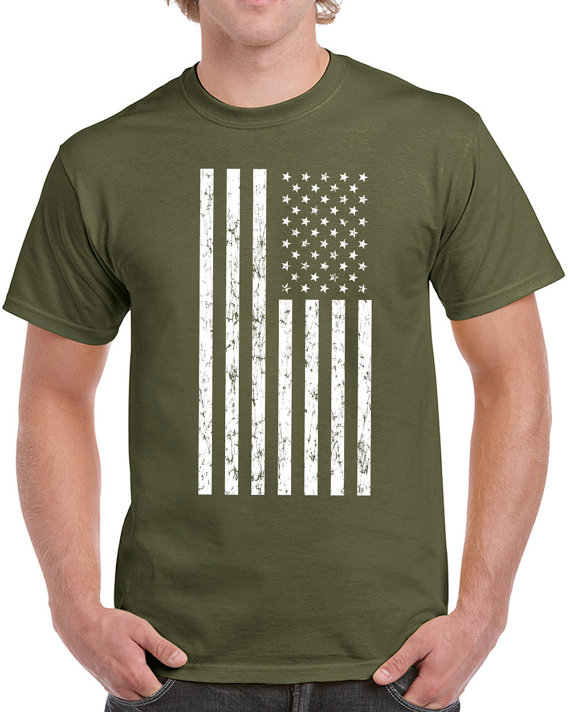 American Flag T Shirt men USA merica veterans day fourth of july pride  america old glory cb6fd009d
