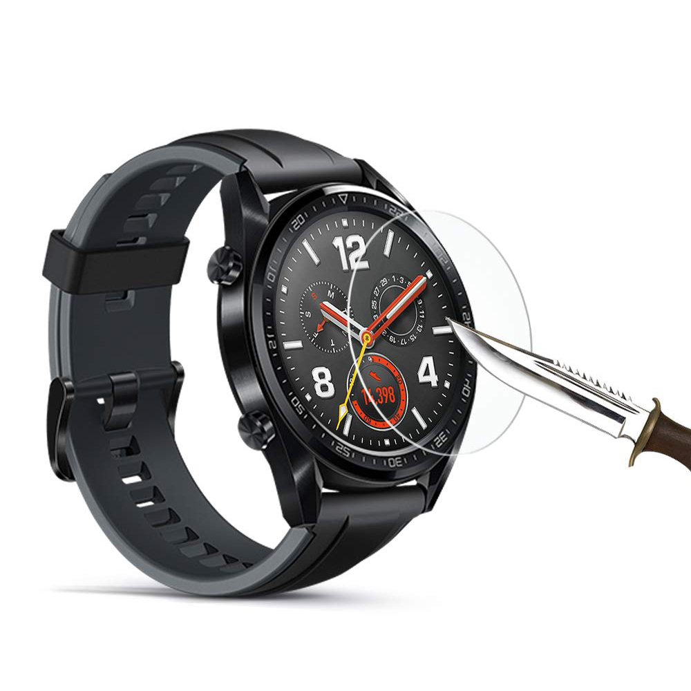 Eeglee Huawei Watch Gt Active For Huawei Watch GT Strap Band 9H HD Tempered Glass Screen Protector Film Watch Accessories