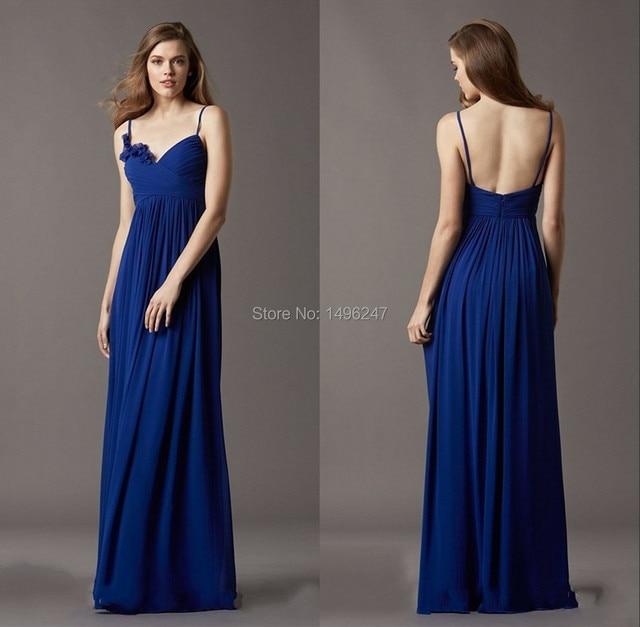 Fashionable Royal Blue Prom Dresses Charming Sweetheart Spaghetti