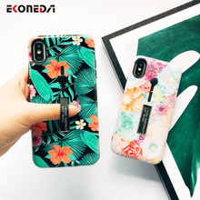 EKONEDA 2 In 1 Holder Cover For iPhone X