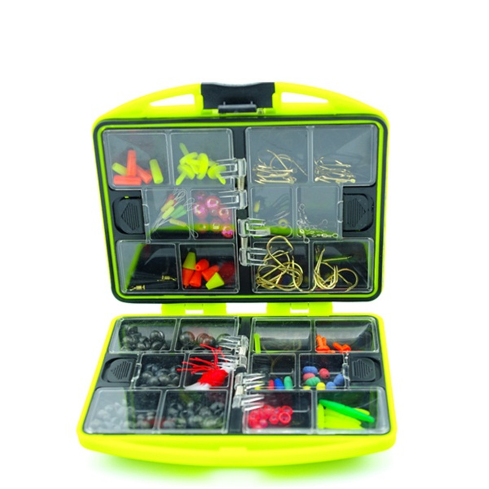 New Arrival Rock Fishing Accessories Box Surf Casting fishing tackle box Swivel Jig <font><b>Hooks</b></font> fishing tools set