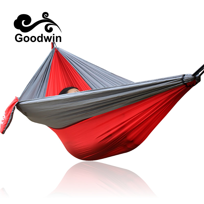 Hammock for Camping - Single & Double Hammocks - Top Rated Best Quality  The Outdoors Backpacking Survival or Travel - Portable thicken canvas single camping hammock outdoors durable breathable 280x80cm hammocks like parachute for traveling bushwalking