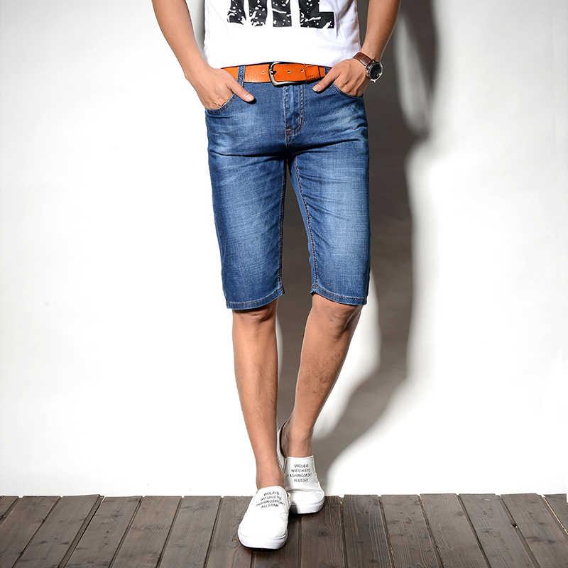 Shorts Uomini Korte Broek Mannen Uomini di Denim Pantaloni Corti Pantaloni Della Tuta Uomo Estate Hombre Gasp Homme Sexy casual di Grande Formato Del Cotone heren