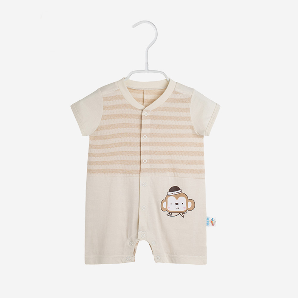Baby Clothes Summer Infant Jumpsuit Newborn Overall Short Sleeve Rompers 100% Cotton Cartoon Boys Girls Clothing