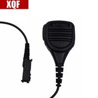 XQF 10PCS Speaker Microphone for Motorola XPR3300 XPR3500 XIR P6620 DP2000 DP2400 MTP3250 Radio