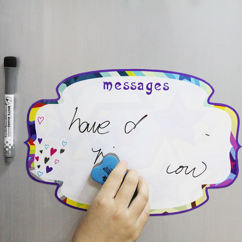 Decorative White Boards aliexpress : buy a4 magnetic notes memo magnets decorative