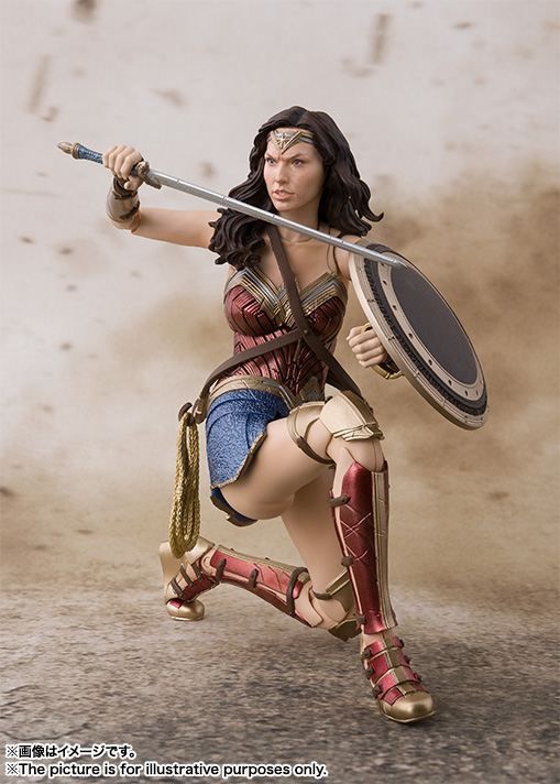 15cm Wonder Woman Justice League Action figure toys doll Christmas gift with box in Action Toy Figures from Toys Hobbies